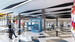 Бюро RMJM разработало дизайн для двух станций межтерминального перехода аэропорта «Шереметьево»