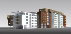 Культурно-оздоровительный центр «Динаода» и жилой комплекс
