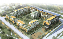 "The central housing development of the ""Konstantinovo"" project (1 construction stage)"