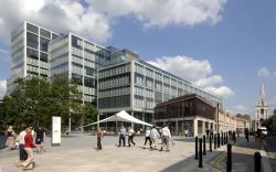 Комплекс 1 Bishop's Square–штаб-квартира Allen & Overy