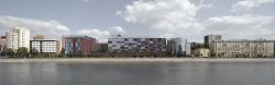 Архитектурная концепция жилого комплекса на Саввинской набережной в Москве