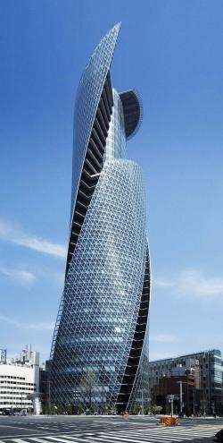 Башня  Mode Gakuen Spiral Towers в Нагое. 2008