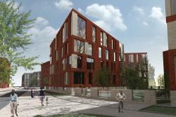 Архитектурная концепция жилого комплекса на участке 18-20G многофункционального комплекса «Красный Октябрь»