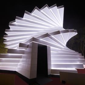 Футуристические павильоны «Сен-Гобен»