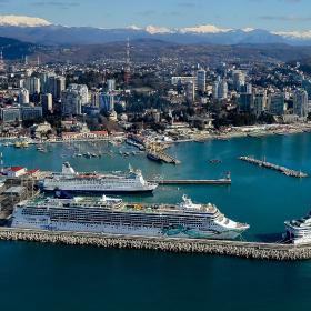Qbiss от Trimo для реконструкции самого большого пассажирского порта на Черном море