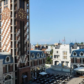 Кровля RHEINZINK для «венецианского» отеля Piazza в Батуми