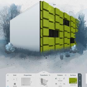 Моделирование фасадов с ALUCOBOND<sup>®</sup> Facademaker