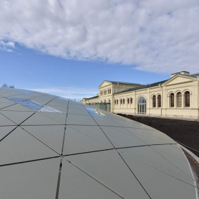 Опоры Buzon для купола Михайловской дачи