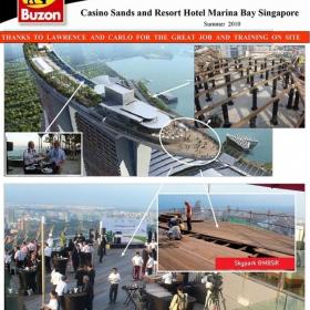 BUZON – это надежное решение для обустройства эксплуатируемой кровли, стилобатов, балконов и террас