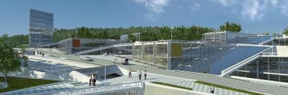 Проект Технопарка Дальневосточного Федерального Университета (ДВФУ) на острове Русский