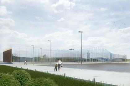 Проект реконструкции фасадов аэропорта города Воронеж