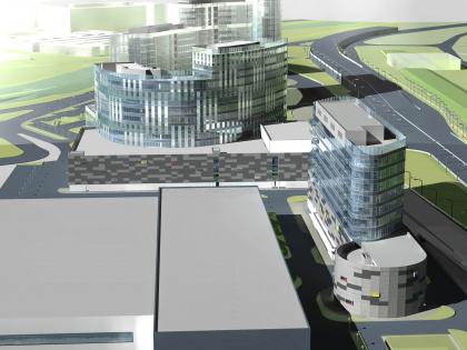 Комплекс зданий и сооружений «Медиа Центр»