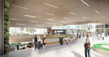 Университетская клиника Ахена – новое крыло