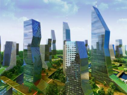 Конкурсный проект Инфо-Сити