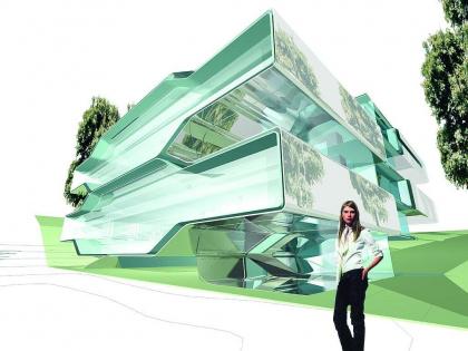Музей Нам Джун Пайка. Конкурсный проект