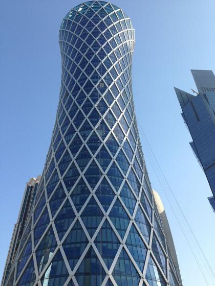 Башня QIPCO Tower – Tornado Tower