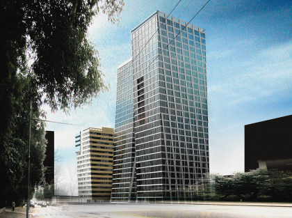 Комплекс офисных зданий в Бумажном проезде