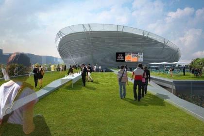 Новый теннисный стадион Ролан-Гаррос