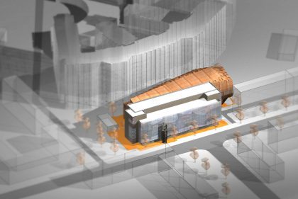 Pre-project concept on capital repairs and reconstruction of the main building of Glinka State Central Museum of Musical Culture with additional building of museum depository, restoration workrooms, exhibition halls, lecture and concert halls