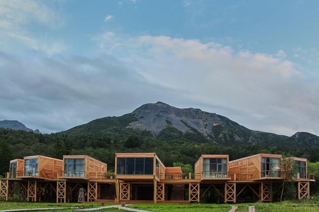 Отель «Высоко в горах». Камчатка. Фото предоставлено коммуникационным агентством «Правила Общения»