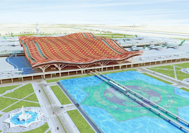 Резултат с изображение за Международного аэропорта города Ашхабада