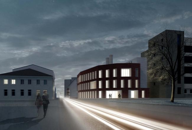 Жилой комплекс на улице Льва Толстого. Проект © Сергей Киселев и Партнеры