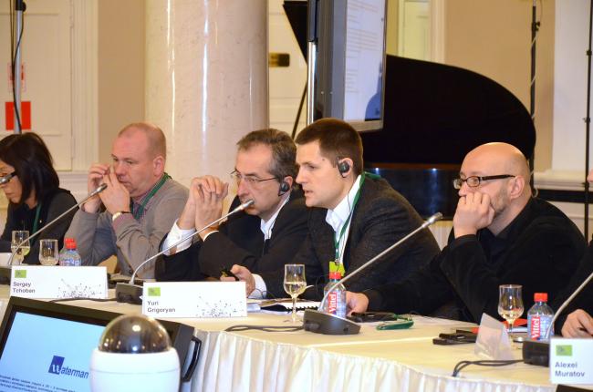 Выступление руководящего партнера SPEECH Чобан&Кузнецов Сергея Кузнецова на Градостроительном Совете Фонда «Сколково»