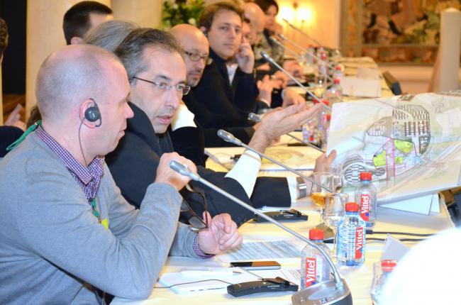 Обсуждение генерального плана инновацонного центра «Сколково»