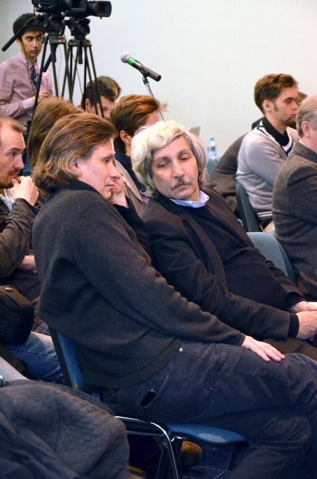 Андрей Савин и Михаил Хазанов