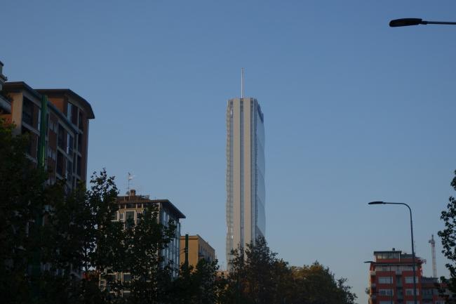 Проект CityLife. Башня Арата Исодзаки. Фото: Alex Roe via flickr.com. Лицензия CC BY 2.0