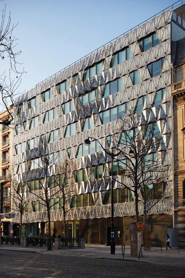 Оригами здание