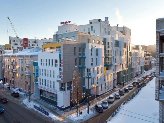 Жилой комплекс на улице Блохиной. Творческая мастерская Пестова и Попова.