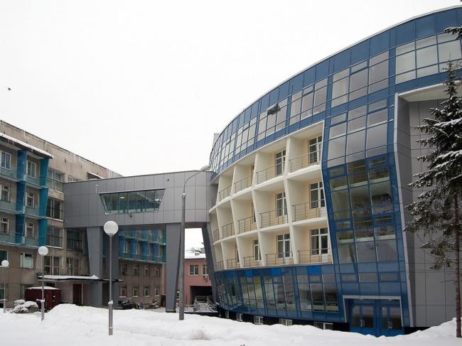 Здание поликлиники УВД на Малой Покровской. ООО Фирма «СС Проект».