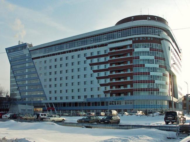 Расширение гостиничного комплекса «Ока» с возведением пристроя к существующему зданию на проспекте Гагарина (кодовое название «Ока»). ООО АПМ «Новый Проект»