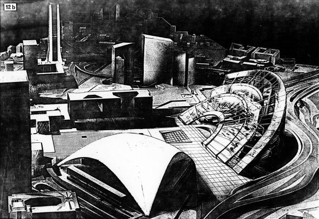 1982 г. Проект для международного конкурса «Tete Defense» в соавторстве с М. Хазановым, С. Скуратовым, М. Кокошкиным, А. Бавыкиным, Л. Евзоровичем, С. Ткаченко, М. Хейсманом, под руководством профессора Э. М. Гользамдта