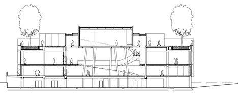 Алезия - музейный и археологический парк. Информационный центр © Bernard Tschumi Architects