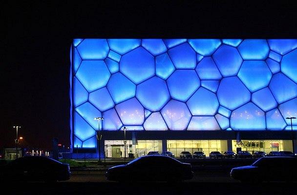 Олимпийский бассейн в Пекине. Проект, над которым Крис Босс работал в бюро RTW. © RTW