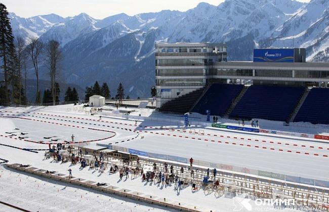 Лыжно-биатлонный комплекс СОЧИ