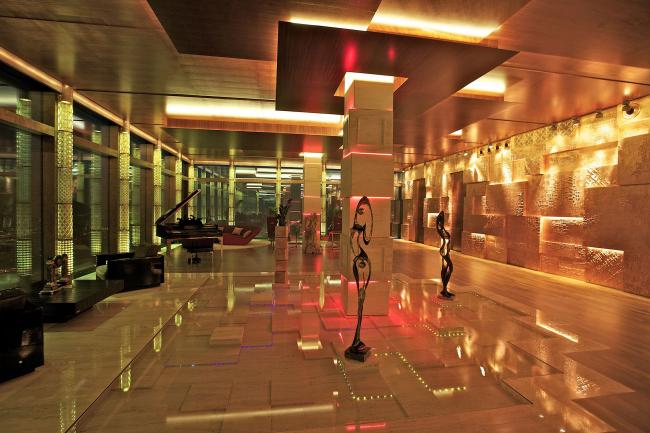 Пентхаус в «Москва-Сити». Реализация, 2011 © Архитектурная мастерская Сергея Эстрина