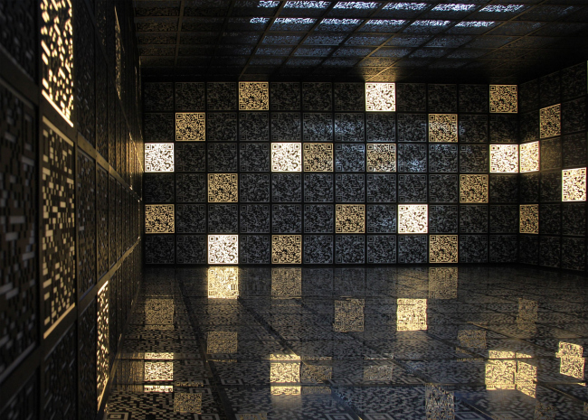 Один из боковых залов павильона России. Фотография Ю. Тарабариной