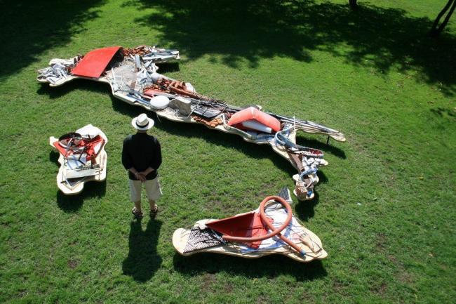 Микеланджело Пистолетто. Объект Recycled Italy. Фото предоставлено Biennale di Venezia
