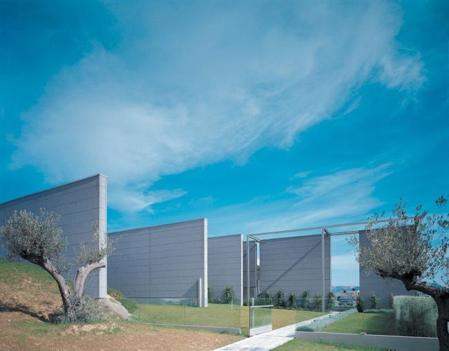 Фабрика Prada в Террануова Браччолини, Ареццо. Гвидо Канали, 2001. Фото предоставлено Biennale di Venezia