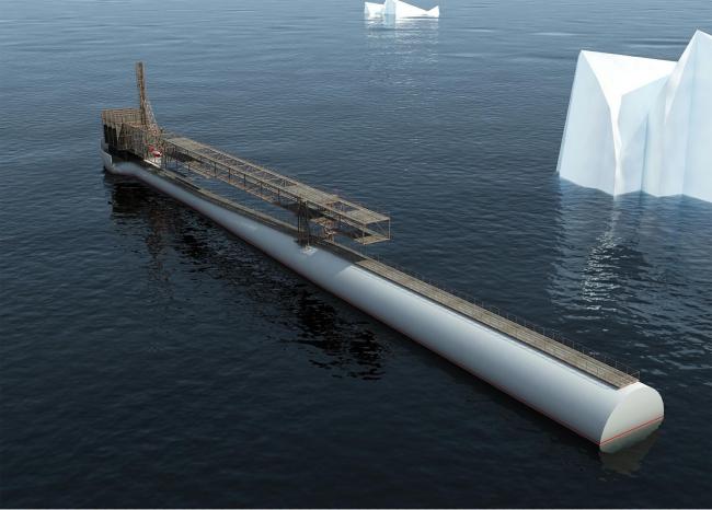 Музей современного искусства в Антарктиде