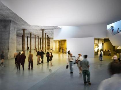 Тейт Модерн 2. Вид пространства для представлений в подвальном уровне