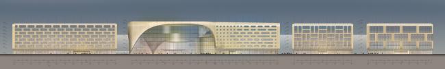 Экспофорум. Фасады. Проект, 2009 © SPEECH, Евгений Герасимов и партнеры