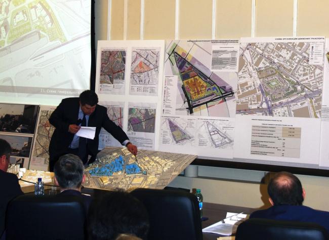 Макет проекта планировки территории