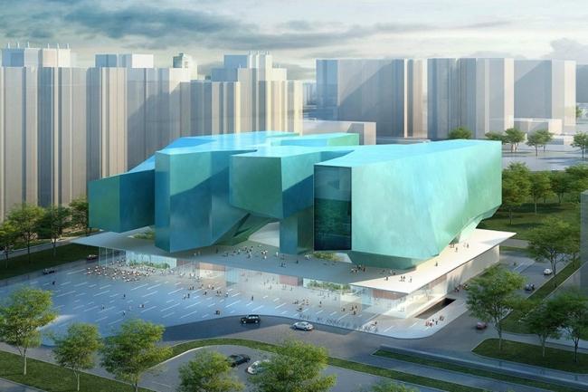 Конкурсный проект нового здания Политехнического музея © Massimiliano Fuksas Architetto (Италия) и Speech (Россия)