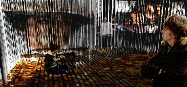 «Проект Визуальный силиконовый фильтр» (Silicone blur). Изображение предоставлено организаторами конкурса.