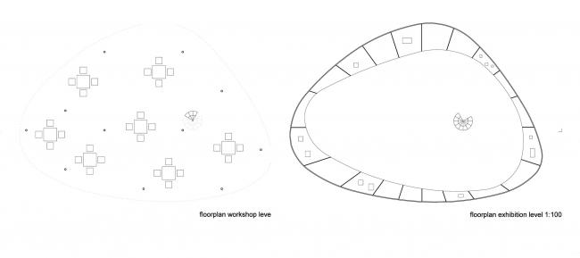 Проект The sky is the ceiling (Небо-потолок). Изображение предоставлено организаторами конкурса.
