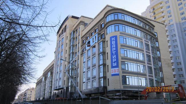 Жилой комплекс «Семь». Фотографии с сайта http://www.dom-seven.ru/